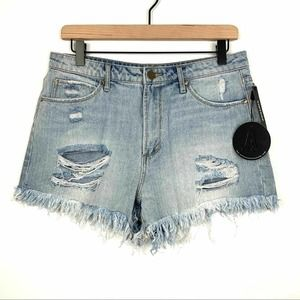 Articles of Society Jean Shorts High Rise Size 29